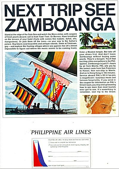 Philippine Air Lines ad 1965 (Image1)