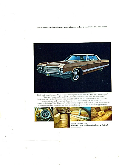 Buick Electra 225 ad 1965 (Image1)