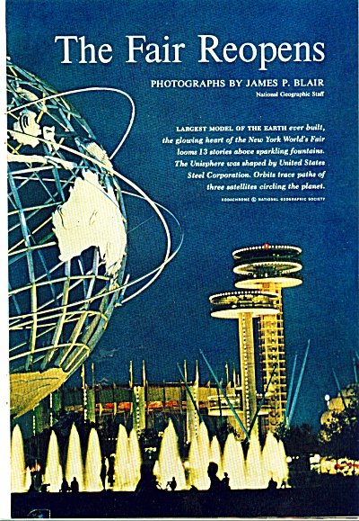 The New York World's Fair in 1965 (Image1)