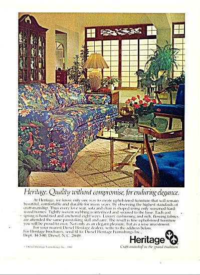 Heritage furniture ad 1980 (Image1)