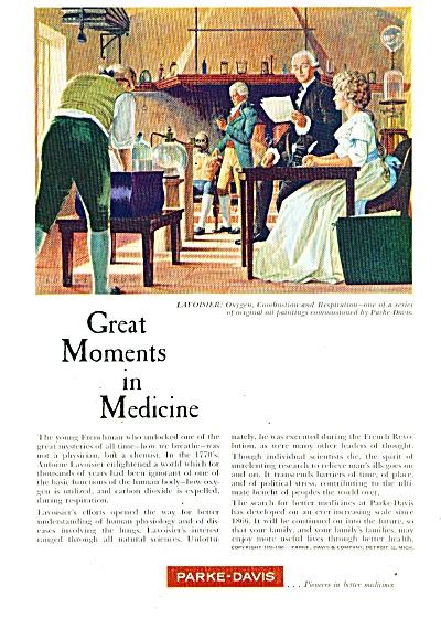 Parke-Davis medicine company ad 1961 (Image1)