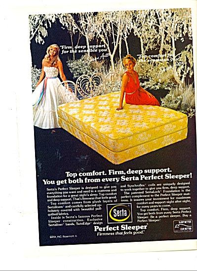 Serta Perfect sleeper ad - SUSAN ANTON (Image1)