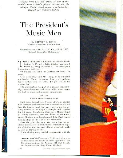 THE PRESIDENT'S MUSIC MEN -1959 (Image1)