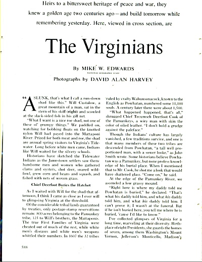 THE VIRGINIANS  - 1974 story (Image1)