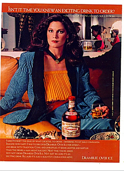 Drambuie cocktail drink ad  1980 (Image1)