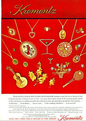Krementz jewelry ad - 1974 (Image1)
