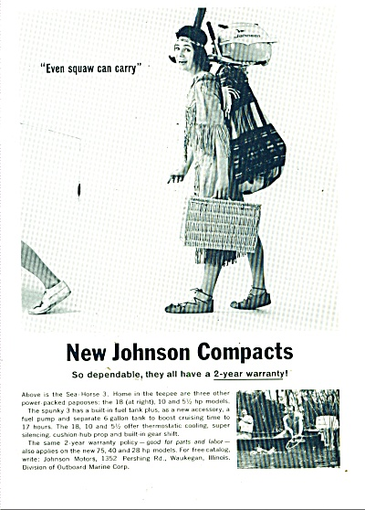 Johnson compact outboard motors ad 1963 (Image1)