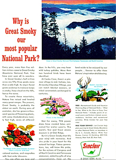 Sinclair Oil company ad - 1963 (Image1)