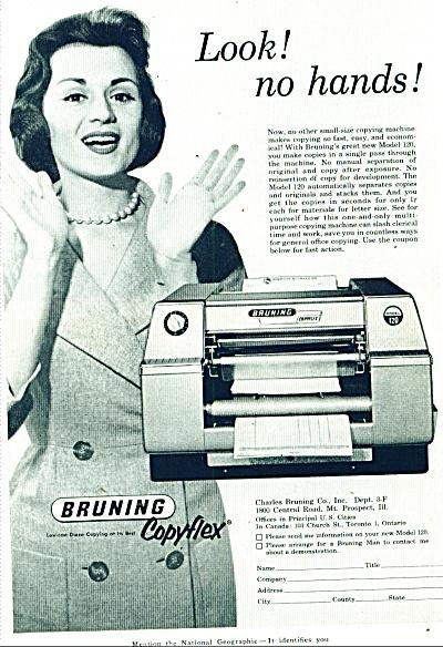 Bruning Copyflex ad 1960 (Image1)
