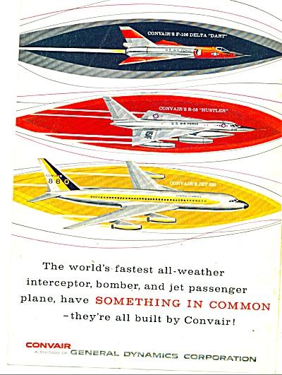 General Dynamics Corporation- CONVAIR  ad (Image1)