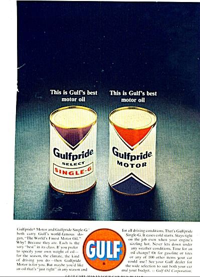 Gulf motor oil 1963 ad (Image1)