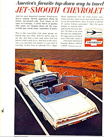Chevrolet Impala convertible ad 1962 (Image1)