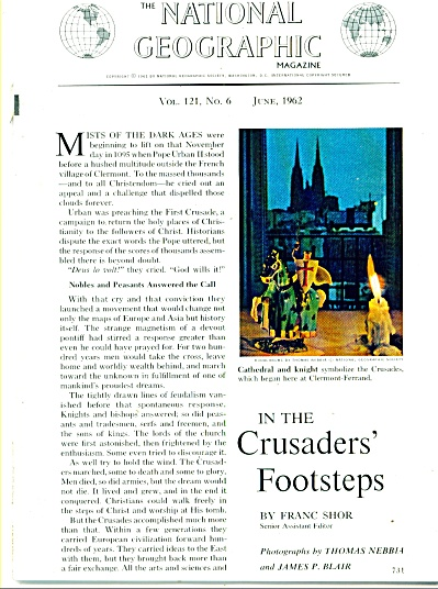 In the CRUSADERS' FOOTSTEPS  story 1962 (Image1)