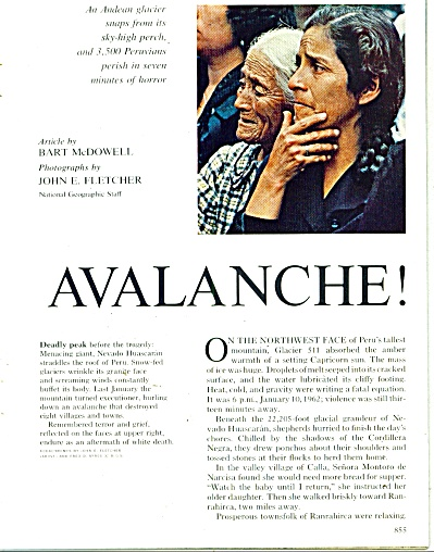 AVALANCHE  Story   1962 (Image1)