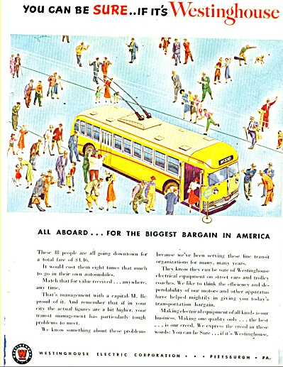 Westinghouse electric corporation - ad  1950 (Image1)