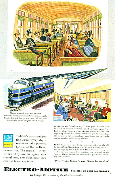 Electro-motive Division Of General Motors Ad