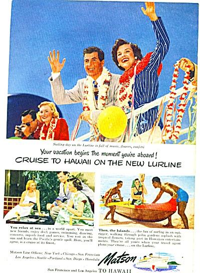 Matson Lines ad 1949 (Image1)