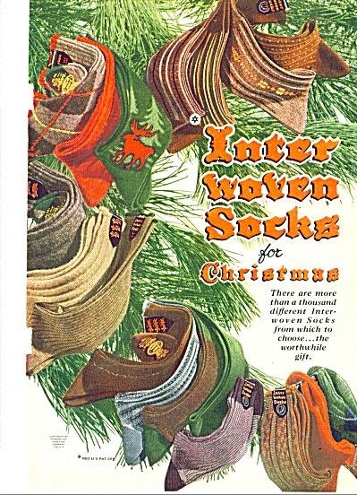 Inter woven socks ad 1947 (Image1)