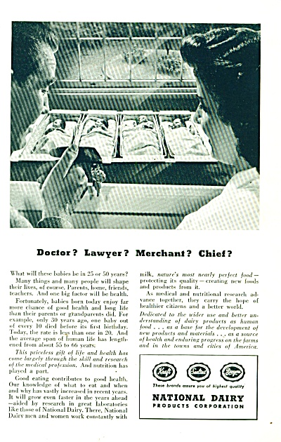 National Dairy products corporation ad 1947 (Image1)