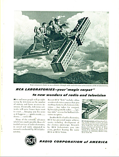 Radio Corporatiokn of America ad 1947 (Image1)