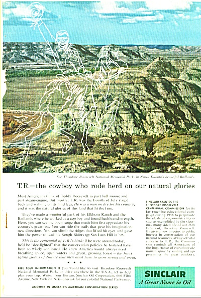 Sinclair Oil ad 1958 (Image1)