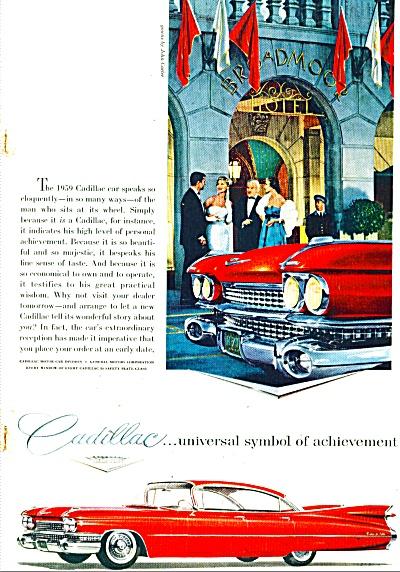 Cadillac motor car ad 1959 (Image1)