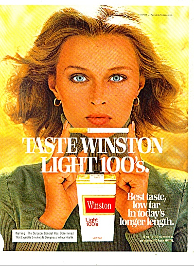 Winston cigarettes ad - 1979 (Image1)