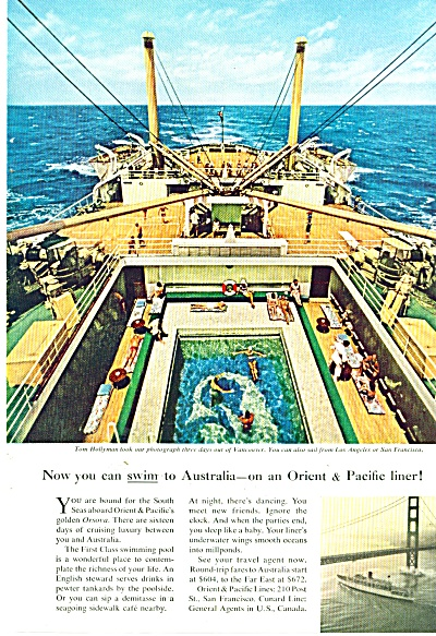 Orient & Pacific liner ad 1959 (Image1)