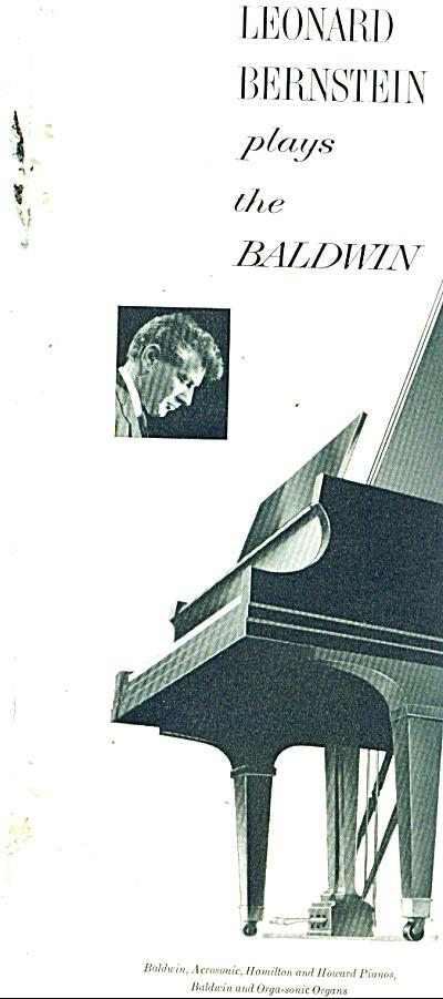 LEONARD BERNSTEIN - Baldwin Piano ad 1963 (Image1)