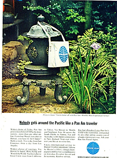 Pan Am Airlines ad 1963 (Image1)