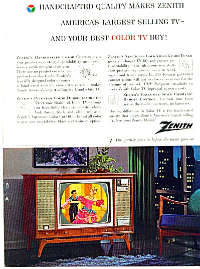 Zenith television ad 1963 (Image1)