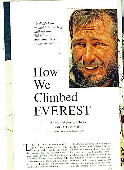How we Climbed EVEREST  story - 1963 (Image1)