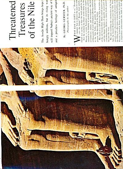 Threatened Treasures of the NILE story 1963 (Image1)