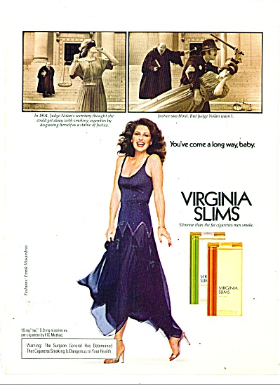 Virginia Slims cigarettes - 1979 (Image1)