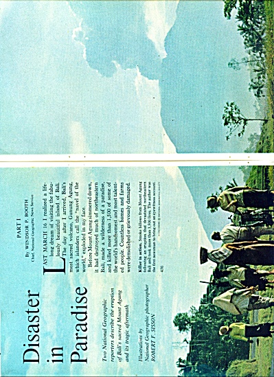 Disaster in Paradise - BALI  story 1963 (Image1)