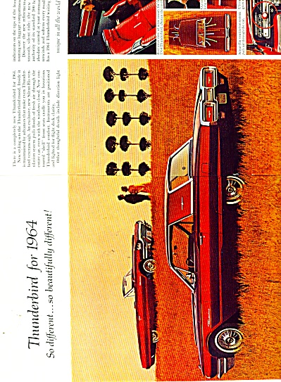 Ford Thunderbird for 1964 ad (Image1)