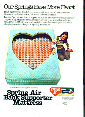 Spring Air Mattress ad 1981 (Image1)