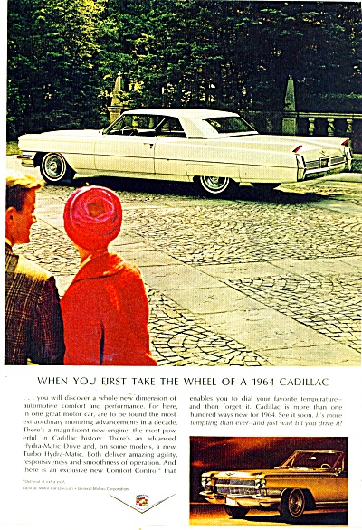 Cadillac for 1964 ad (Image1)