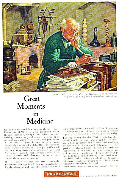 Parke Davis medicines ad 1960 (Image1)