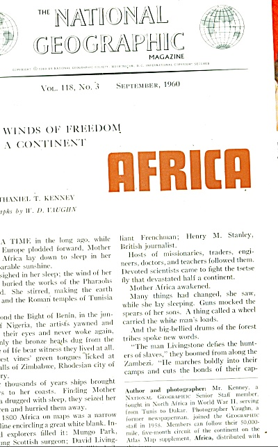 AFRICA - Winds of freedom stir a continent - (Image1)