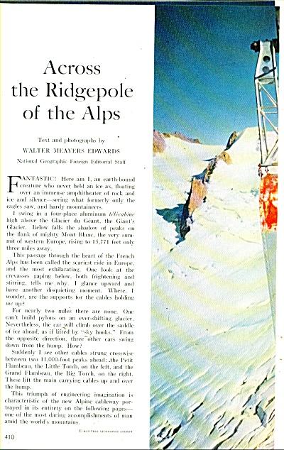Across theRidgepole of lthe ALPS  - 1960 (Image1)