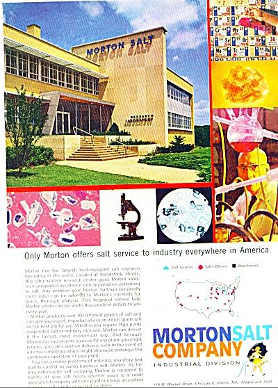 Morton Salt Company ad 1960 (Image1)