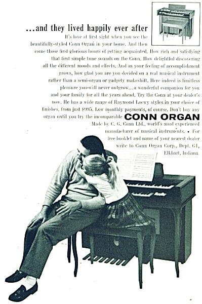 Conn Organ ad - 1960 (Image1)