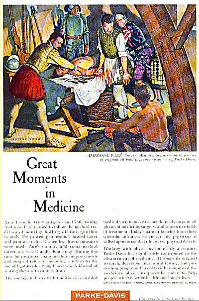 Parke-Davis medicines ad 1960 (Image1)