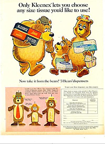 Kleenex tissues ad 1981 (Image1)