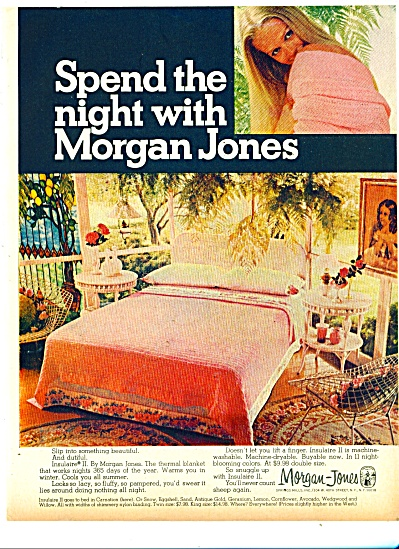 Morgan-Jones blankets ad 1981 (Image1)