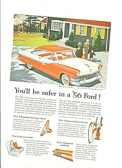 Ford Victoria for 1955  ad (Image1)
