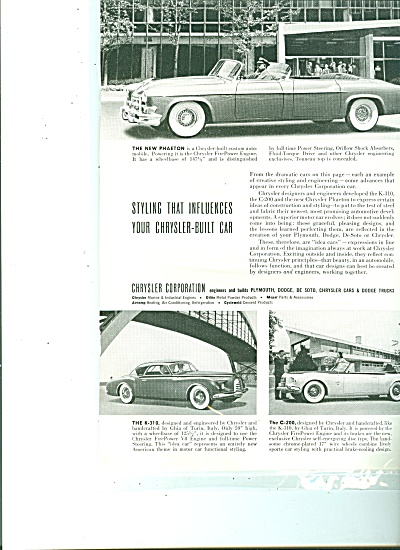 Chrysler corporation autos ad 1952 (Image1)