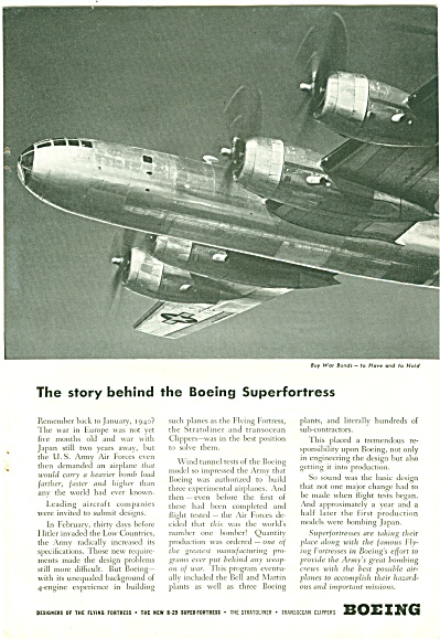 Boeing aircraft ad 1944 (Image1)