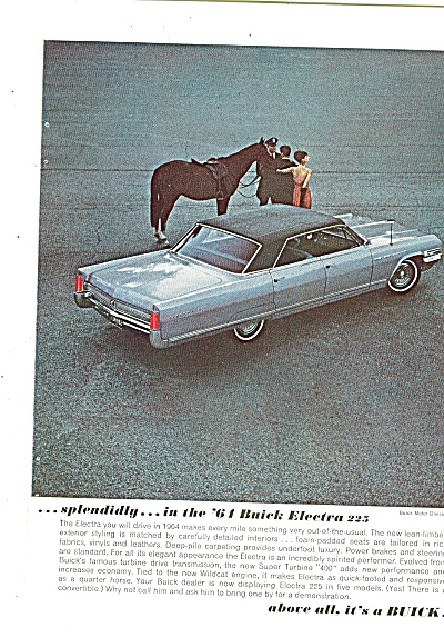 Buick Electra 225 for 1964 ad (Image1)